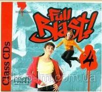 Full Blast! 4 Class CDs / Аудио диск