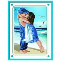 """""""Дети на пляже. Honey Home """" Набор для рисования камнями"""