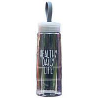 Бутылка для питья, воды 520 мл (0,5л) с фильтром, ручкой  Casno -  ЭКОпластик, спортивная, Пляшка для пиття