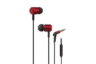 Гарнитура проводная 2E X1 Extra Bass red (2E-IEX1RD) EAN/UPC: 680576169266