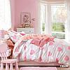 Постельное детское в розовое сердечко Вилюта ранфорс 19009