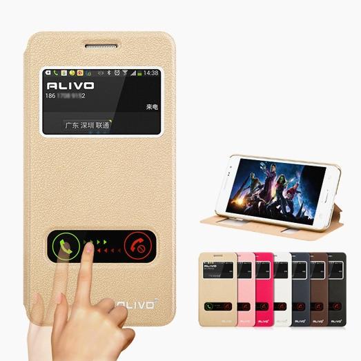 """Samsung G530 / 531 GRAND PRIME чехол книжка оригинальный SMART с окошками противоударный для телефона """"ALIVO"""""""