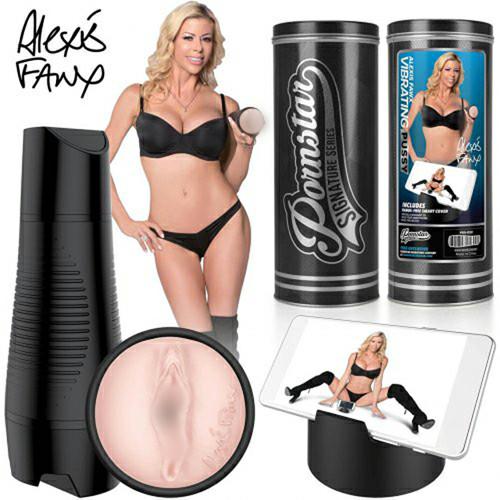 Мастурбатор  Alexis Fawx Chargeable Vibrating Vagina с вибрацией Pornstar Series