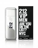 Духи мужские парфюм Carolina Herrera 212 Vip Men копия