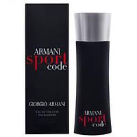 Духи мужские парфюм Giorgio Armani Armani Sport Code (Армани Спорт Код)копия