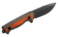 Нож туристический для выживания, мощный клинок + огниво