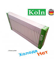 Стальной Радиатор отопления (батарея) 500x800 тип 22 Koln (боковое подключение)