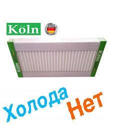 Стальной Радиатор отопления (батарея) 500x700 тип 22 Koln (боковое подключение), фото 2