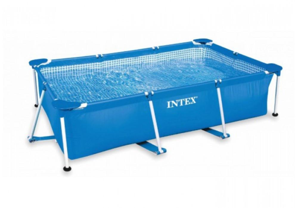 Бассейн каркасный Intex Rectangular Frame Pool (300x200x75см), 3834л