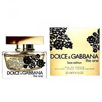 Женская парфюмированная вода Dolce&Gabbana The One Lace Edition ( Зе Ван Лэйс Эдишен)копия