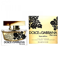 Жіноча парфумована вода Dolce&Gabbana The One Lace Edition ( Зе Ван Лэйс Эдишен)копія
