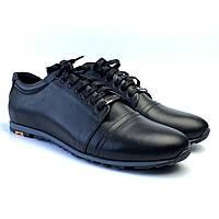37ee84f7b Кожаные кроссовки черные мужская обувь большой размер Rosso Avangard  Turtlier Black Leather