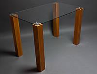 """Стеклянный стол для кухни """"Прозрачный"""", фото 1"""