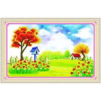 """""""Осенний сад"""" Набор для рисования камнями"""