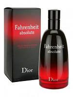 Мужская туалетная вода Christian Dior Fahrenheit Absolute (Кристиан Диор Фаренгейт Абсолют)