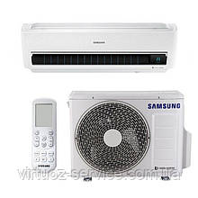 Инверторный кондиционер Samsung AR12MSPXBWKNER с Wind Free и Wi-Fi
