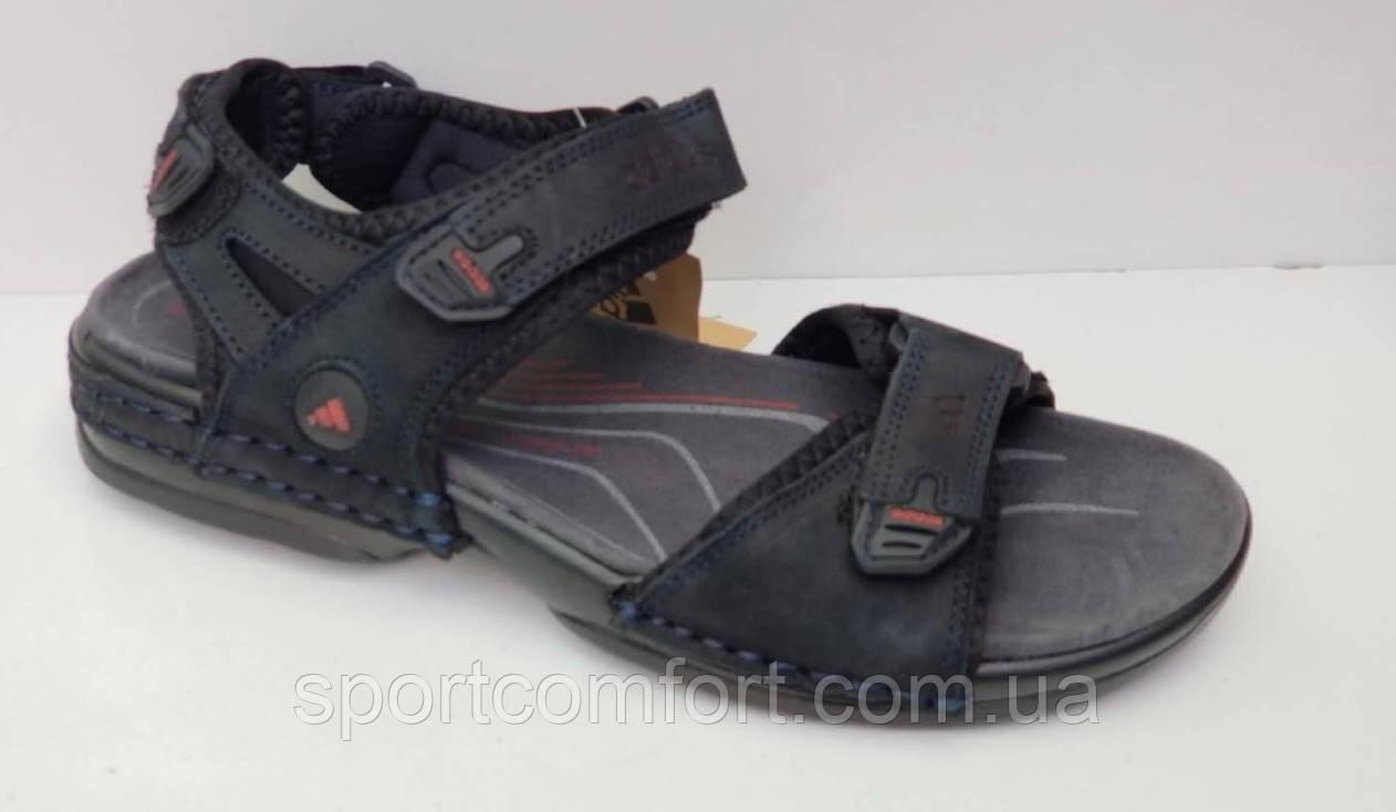 Сандалии Adidas мужские т.синие