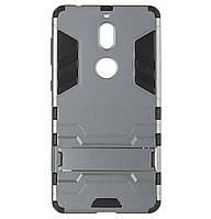 Бронированный противоударный чехол Stand для Nokia 7 Grey