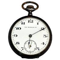 Alf. Moser & Co винтажные карманные часы