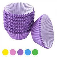 Формочки бумажные для кексов 500шт/уп 8см (d3cm h2.5cm)