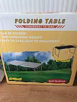 Складной стол для пикника со стульями и зонтом - 150744