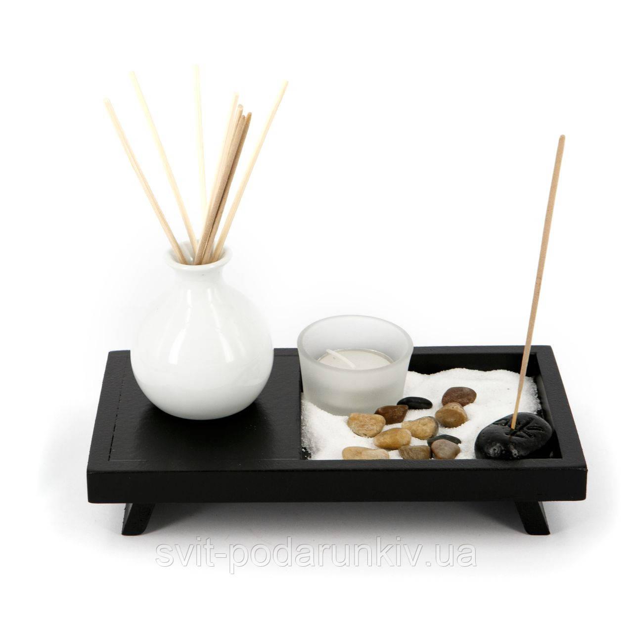 Подарочный набор с подсвечником в японском стиле YS052