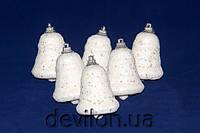 Набор пенопластовых колокольчиков 6шт*6см, арт. 200305