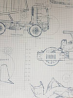 Обои бумажные YORK  KS2350 A Perfect World детские молодежные машины трактора