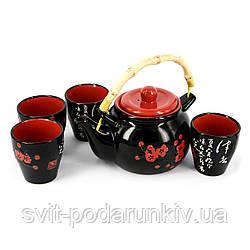 Подарочный чайный набор для чайной церемонии Сакура АS037-2
