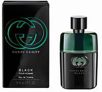 Мужская туалетная вода Gucci Guilty Black Pour Homme (Гучи Гилти Блек)копия