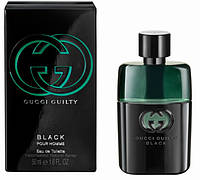 Парфюмерия мужская туалетная вода  Gucci Guilty Black Pour Homme (Гучи Гилти Блек)копия