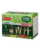 Jay Wai Японский напиток из трех видов зеленого сока (3 г × 30 пакетиков)