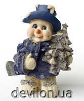 Снеговик с елкой, 21 см, арт. 950446