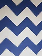 Обои бумажные YORK  KI0589 A Perfect World детские молодежные волна синие