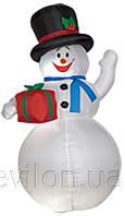 Надувной Снеговик, 180 см, арт. 830022