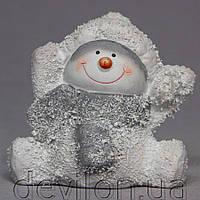 Декорация, Снеговик, 9,5*9*9 см