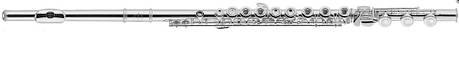 J.MICHAEL FL-420SPO-H (W) Флейта поперечная  Клавиши открытые (Французкая система) в линию, фото 2