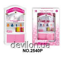 """Кукольный книжный шкаф """"Милый дом"""", розовый, арт. 2540P"""