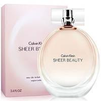 Туалетна вода жіноча Calvin Klein Sheer Beauty (Кельвін Кляйн Шер Б'юті)копія