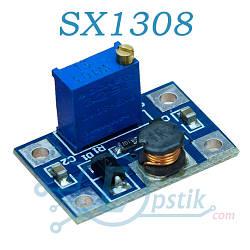 Модуль SX1308, DC-DC преобразователь 24В, 2А
