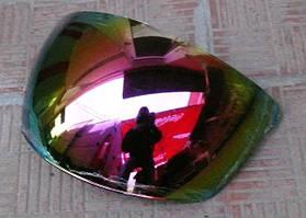 Стекло шлема без бороды (лазерная тонировка)