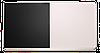 Доска одинарная: меловая, магнитно-маркерная, комбинированная – 2000x1000 мм (с черной поверхностью)