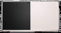 Доска одинарная: меловая, магнитно-маркерная, комбинированная – 2000x1000 мм (с черной поверхностью), фото 1