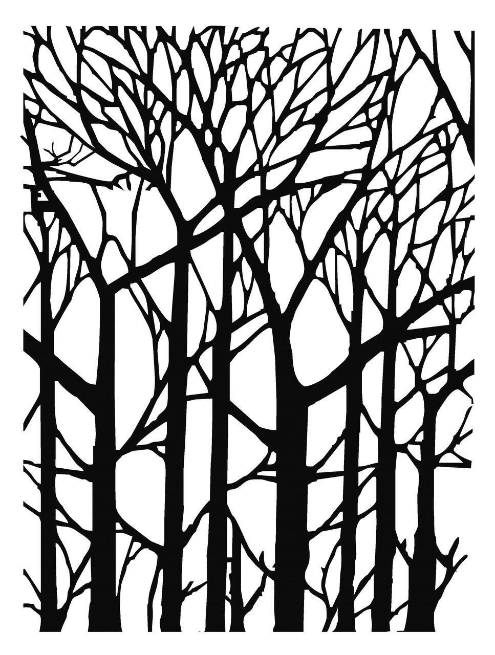 """Интерьерная наклейка """"Деревья"""""""