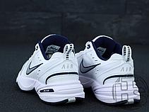 Мужские кроссовки Nike Air Monarch IV Lifestyle/Gym Shoe White Metallic Silver 415445-102, фото 3