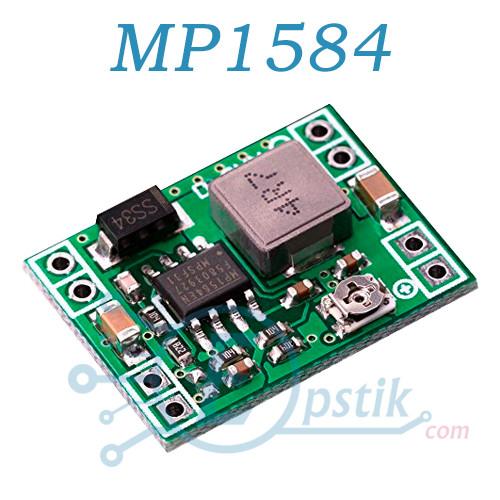 Модуль MP1584, понижающий DC-DC преобразователь 20В, 3А