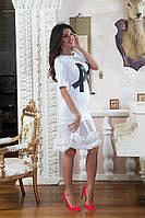 """Платье  """"N""""  чёрное и белое № 459  аи"""