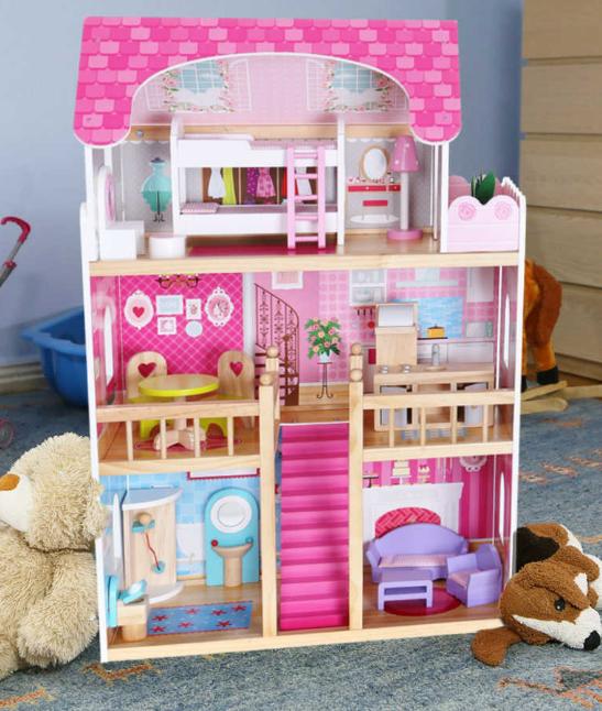 Ляльковий будиночок від ЕСOTOYS / Кукольный домик от Экотойс