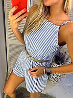 Комбинезон женский с шортами в расцветках 36774