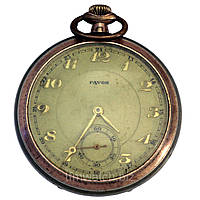 Favor винтажные швейцарские карманные часы